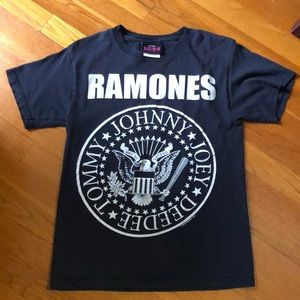 Ramones t shirt.